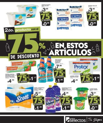 Super BLACK descuentos hasta 75 OFF en supermercado selectos - 15nov17